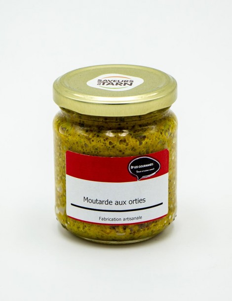 Moutarde aux Orties 190gr